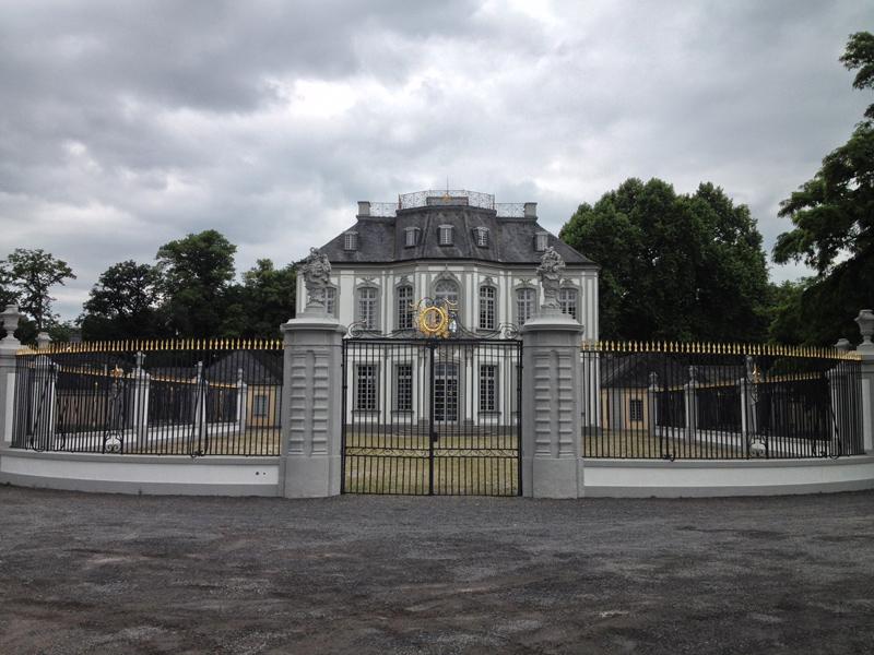 Vater-Sohn-Tour rund um Brühl (2/3)