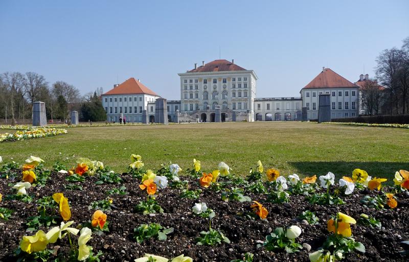 Auf in den Süden: Schloss Nymphenburg