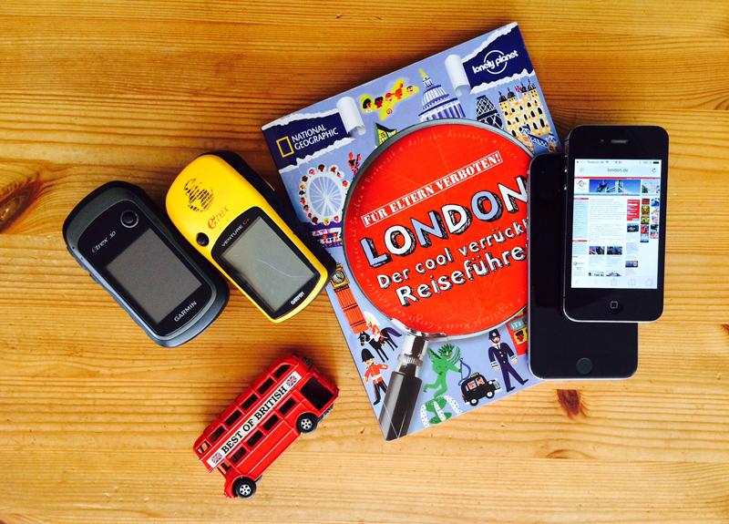 GPS-Geräte und Smartphones