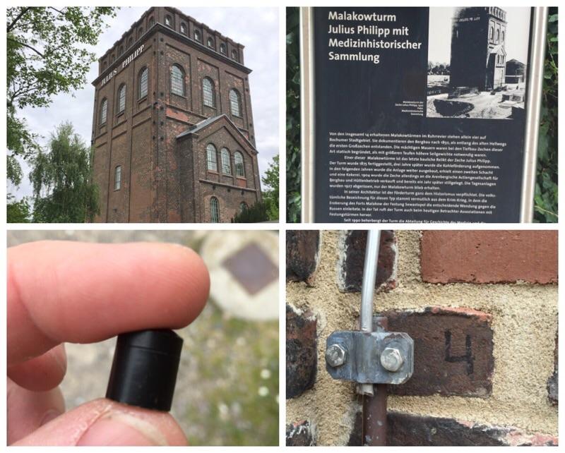 Bochum deutschlandweit malakowturm geocaching jeckyl