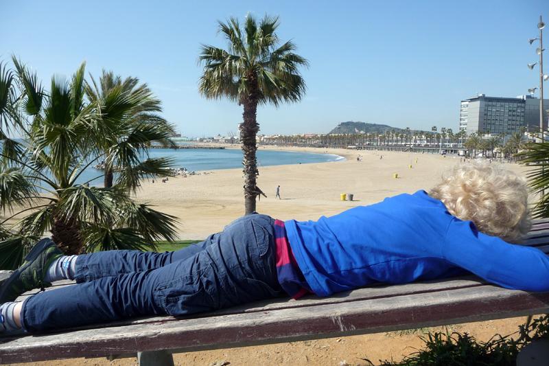 Barcelona – Entspannung, Strand und Wassershows