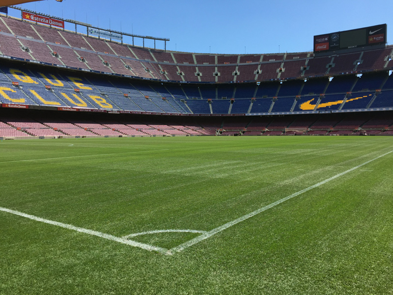 barcelona sightseeing geocaching restderwelt camp nou jeckyl