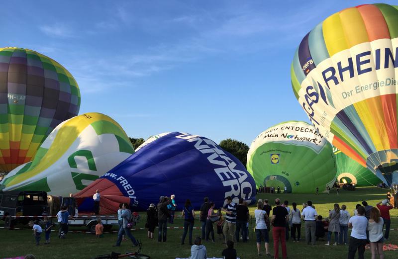 Faszination Heißluftballon