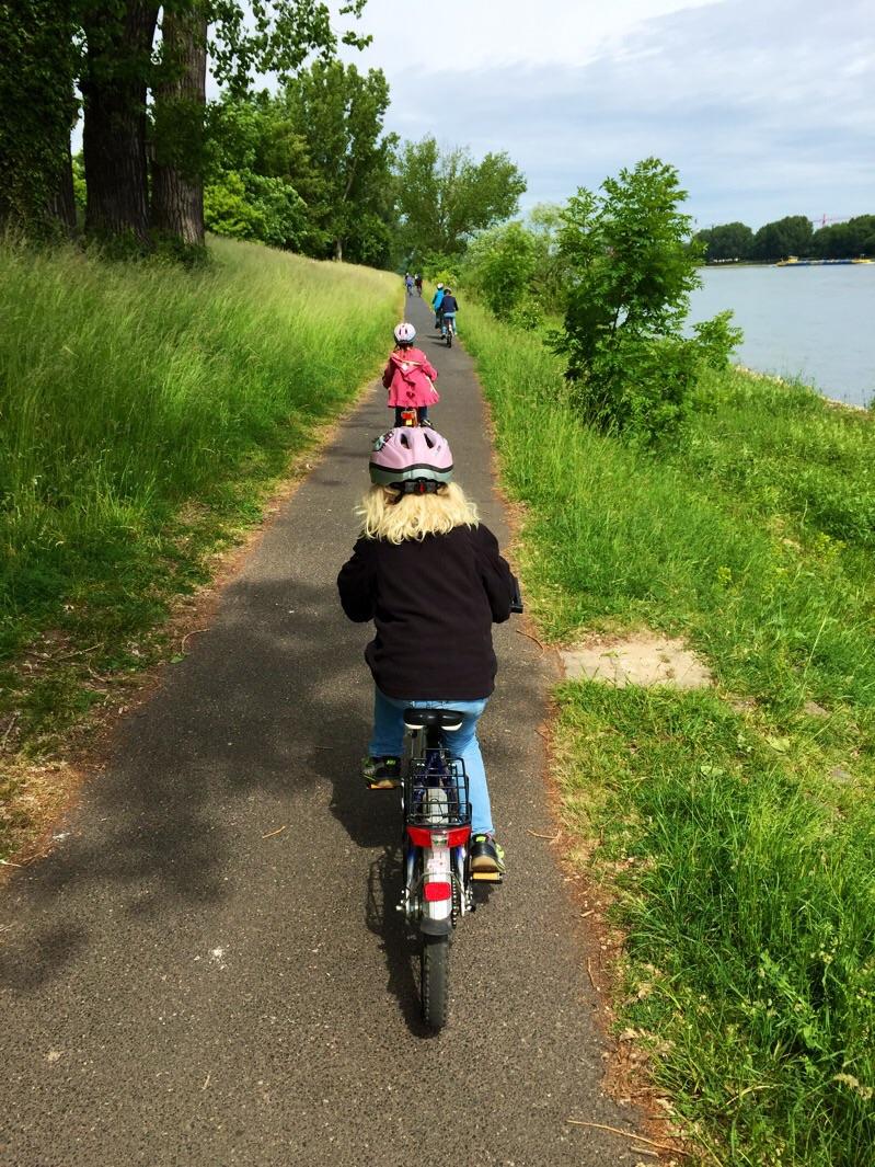 Radtour am Sonntagmorgen