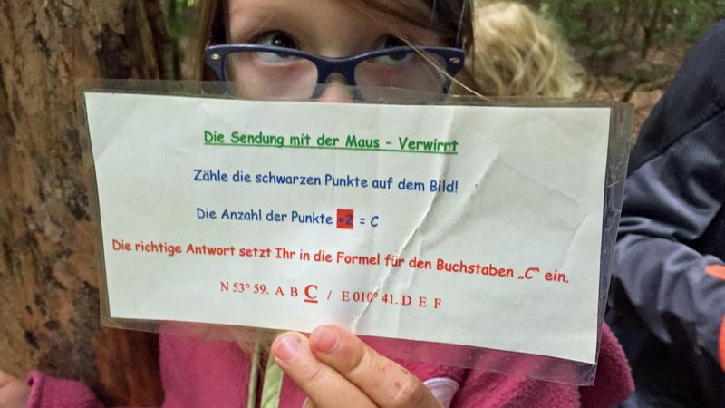 pansdorf luebecker bucht geocaching empfehlung sendung maus jeckyl aufgabe