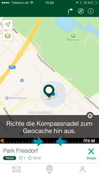 geocaching app tutorial jeckyl navigation