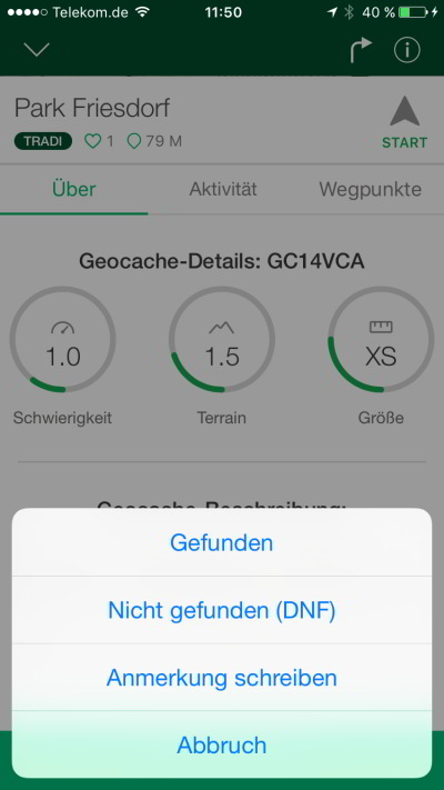 geocaching app tutorial jeckyl loggen