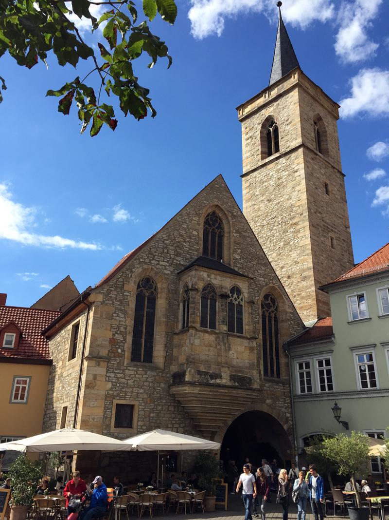 erfurt deutschlandweit geocaching jeckyl empfehlung aegidienkirche