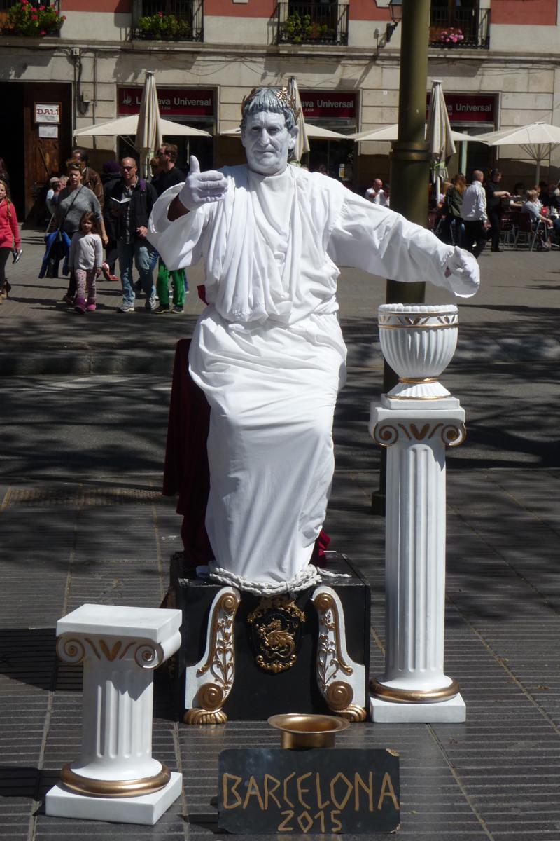 barcelona sightseeing statuen jeckyl