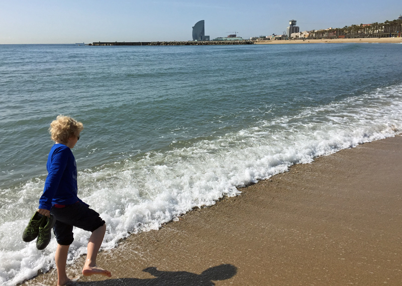 barcelona strand geocaching jeckyl restderwelt