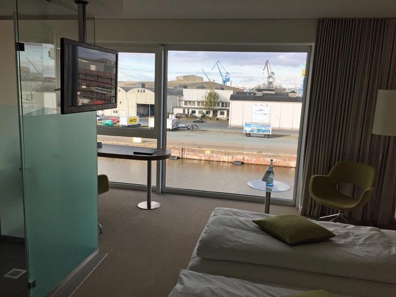 bremerhaven deutschlandweit geocaching jeckyl best western hotelzimmer blick