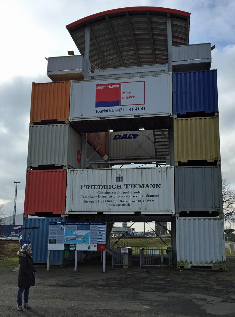 bremerhaven deutschlandweit geocaching jeckyl containerturm nordschleuse